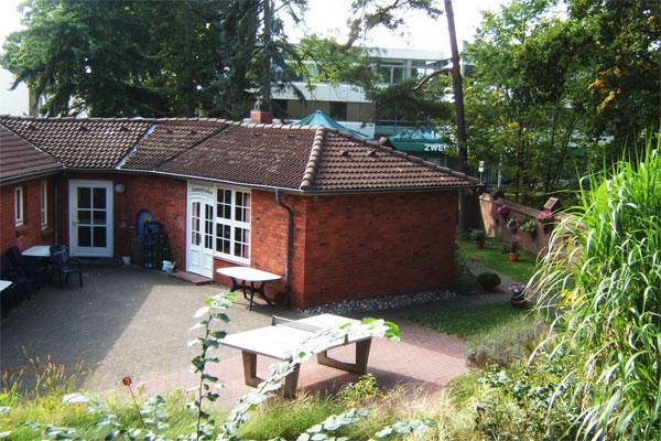 Georg Koch Stiftung - Kinderferienheim am Timmendorfer Strand - Kinderferienheim mit Innenhof