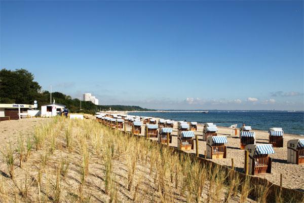Georg Koch Stiftung - Kinderferienheim am Timmendorfer Strand - Blick auf den Strand